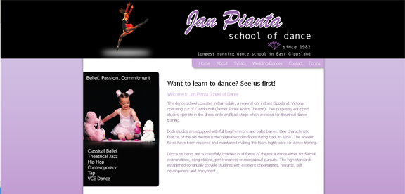 Jan Pianta School of Dance